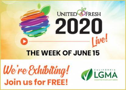 United Fresh Live - we are exhibiting, join us for free!